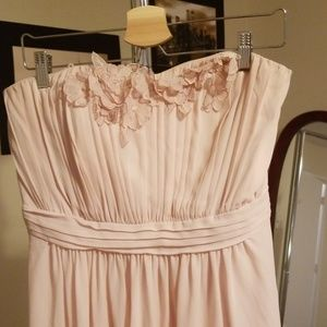 Beautiful floor length gown in blush pink